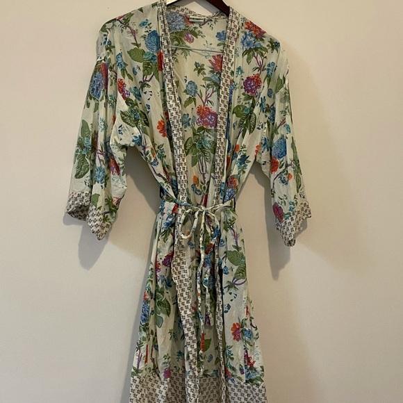 Handprint • Floral Robe